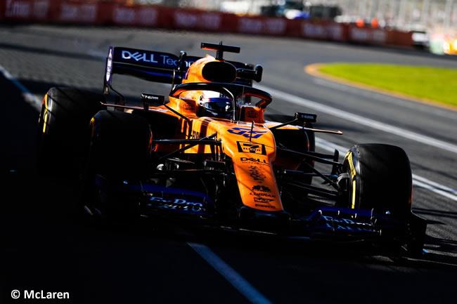 Carlos Sainz - McLaren - Entrenamientos - GP Australia 2019