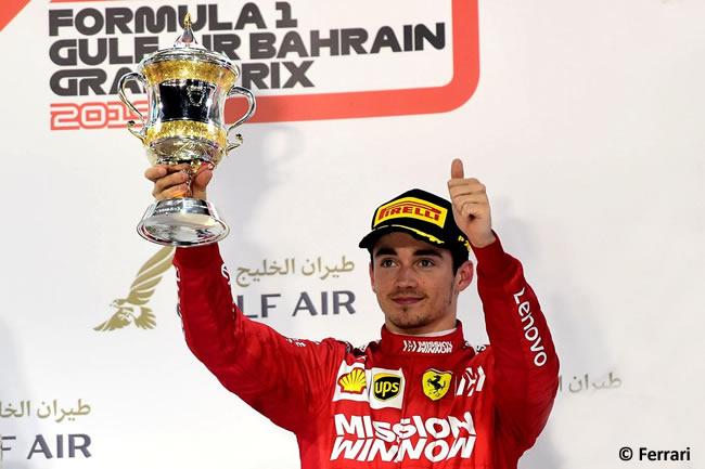 Charles Leclerc - Scuderia Ferrari - GP Bahréin 2019