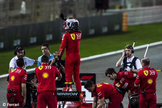 Charles Leclerc - Ferrari - Clasificación GP Bahréin 2019
