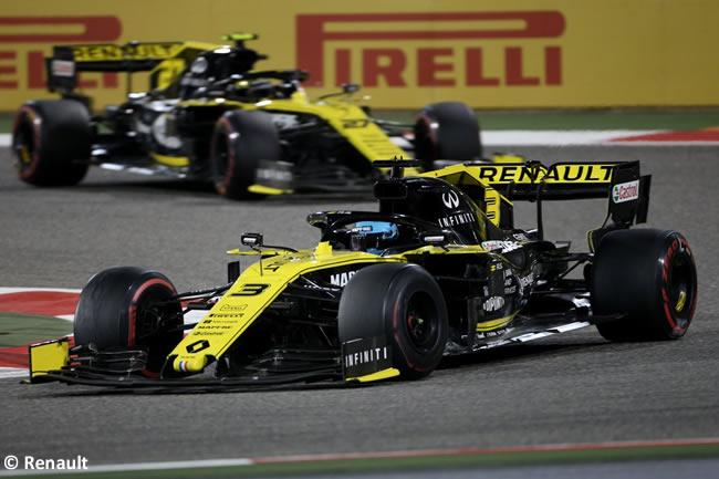 Daniel Ricciardo - Nico Hulkenberg- Renault - GP Bahréin 2019
