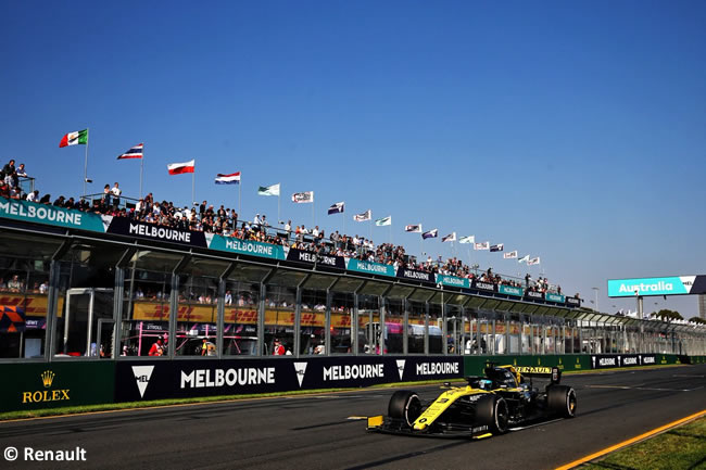 Daniel Ricciardo - Renault - GP Australia Melbourne 2019
