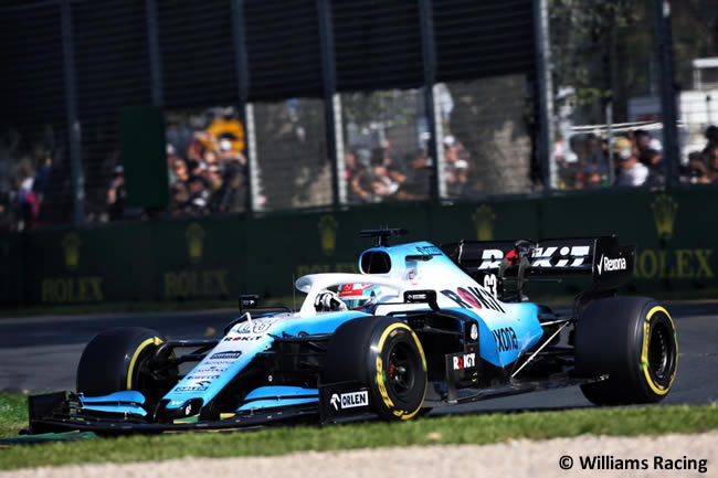 George Russell - Williams - GP Australia Melbourne 2019 - Carrera