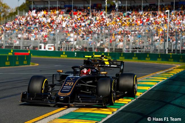Kevin Magnussen - Haas - GP Australia Melbourne 2019 - Carrera