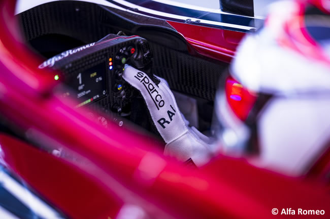Kimi Raikkonen - Alfa Romeo Racing - GP Australia Melbourne 2019 - Carrera