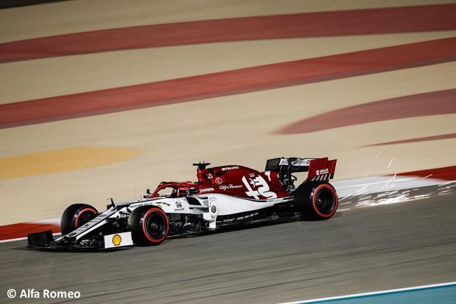 Kimi Raikkonen - Alfa Romeo - Clasificación GP Bahréin 2019