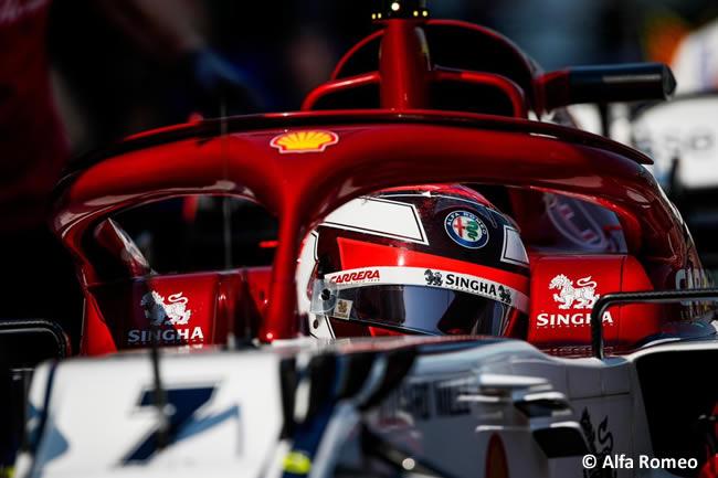 Kimi Raikkonen - Alfa Romeo - Clasficación - GP Australia 2019