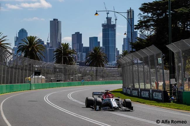 Kimi Raikkonen - Alfa Romeo - Entrenamientos - GP Australia 2019