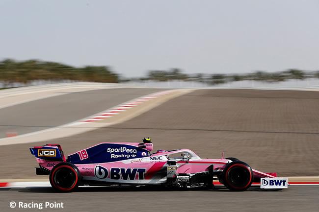 Lance Stroll - Racing Point - Clasificación GP Bahréin 2019