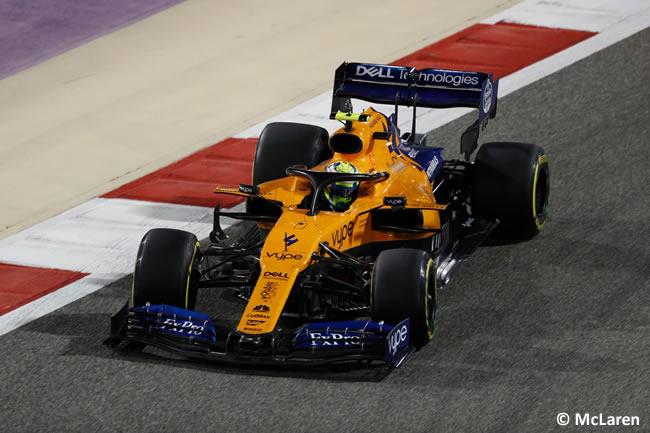 Lando Norris - McLaren - GP Bahréin 2019
