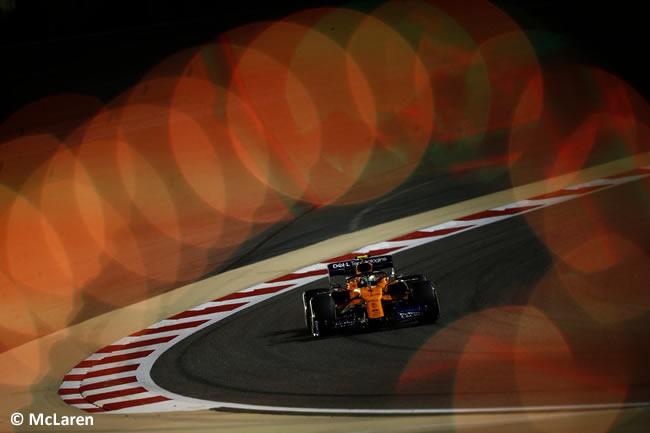 Lando Norris - McLaren - GP Bahréin 2019 - Entrenamientos