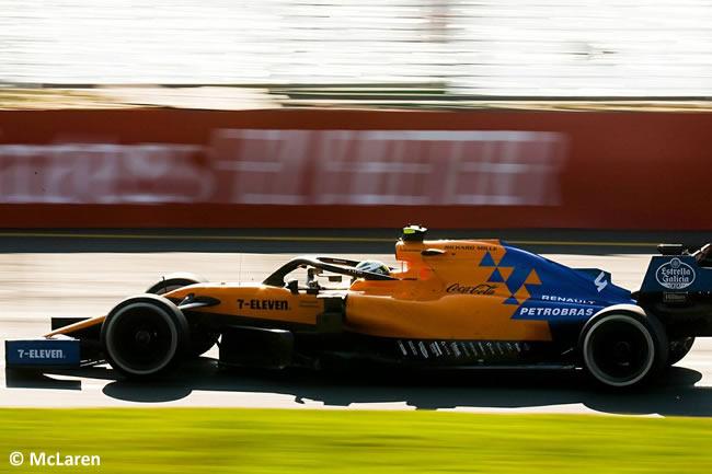 Lando Norris - McLaren - GP Australia Melbourne 2019 - Carrera