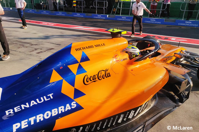 Lando Norris - McLaren - Clasficación - GP Australia 2019