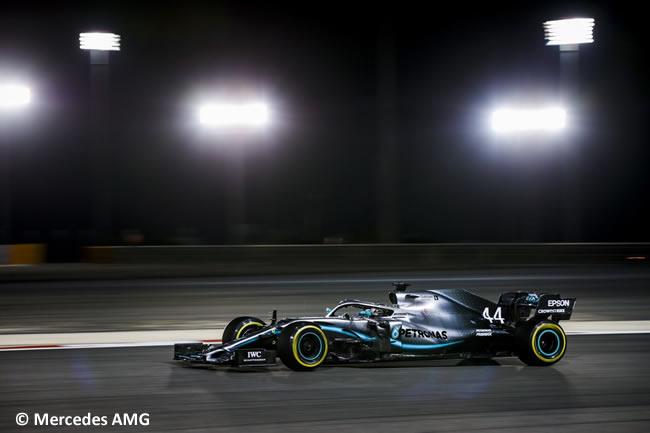 Lewis Hamilton - Mercedes AMG - Clasificación GP Bahréin 2019