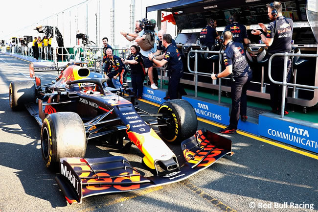 Max Verstappen - Red Bull - GP Australia Melbourne 2019 - Carrera