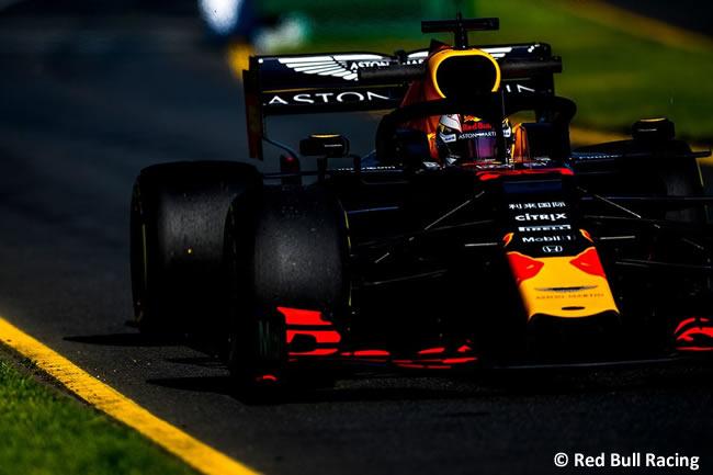 Max Verstappen - Red Bull - Clasficación - GP Australia 2019