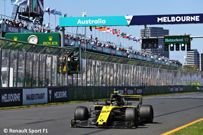 Nico Hulkenberg - Renault Entrenamientos - GP Australia 2019