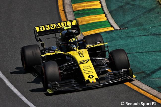 Nico Hulkenberg - Renault - Clasficación - GP Australia 2019