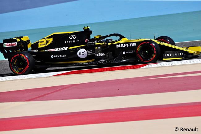 Nico Hulkenberg - Renault - GP Bahréin 2019 - Entrenamientos