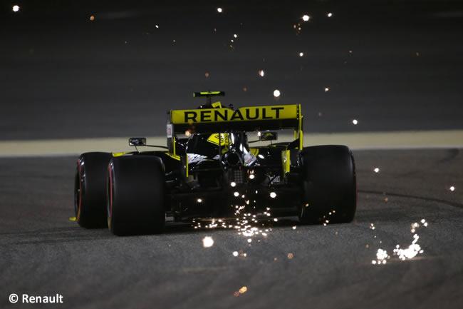 Renault - Clasificación GP Bahréin 2019