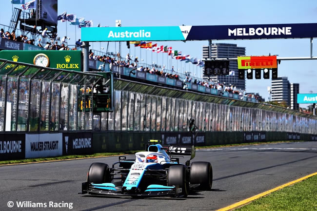 Robert Kubica - Williams Entrenamientos - GP Australia 2019