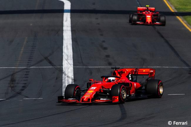 Sebastian Vettel - Scuderia Ferrari - GP Australia Melbourne 2019 - Carrera