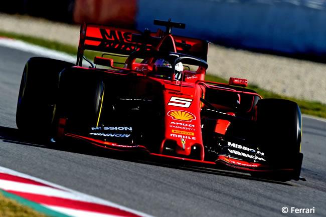 Sebastian Vettel - Scuderia Ferrari 2019