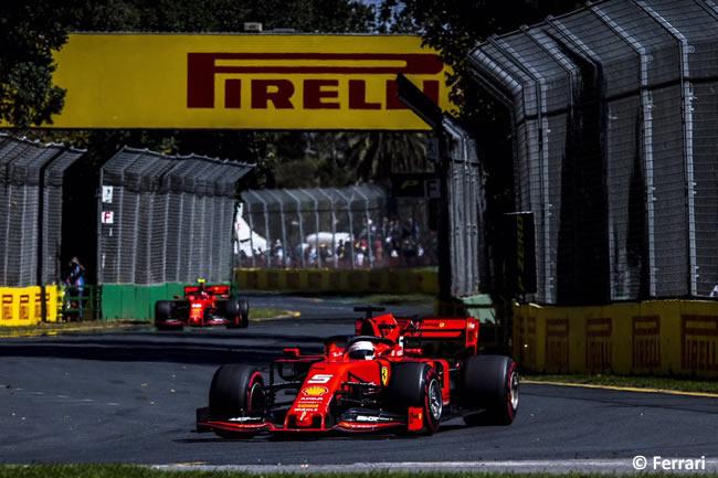 Sebastian Vettel - Scuderia Ferrari - Entrenamientos - GP Australia 2019