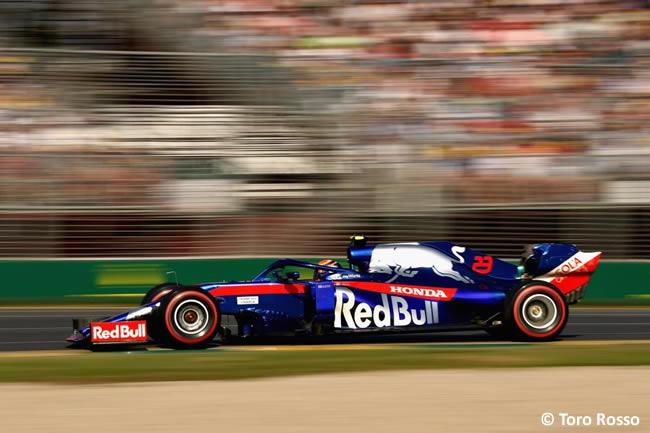Toro Rosso - Clasficación - GP Australia 2019