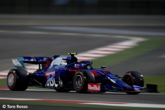 Toro Rosso - Clasificación GP Bahréin 2019