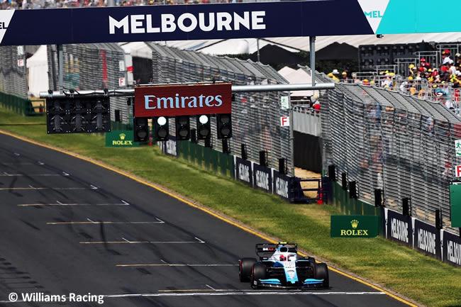 Williams - Clasficación - GP Australia 2019
