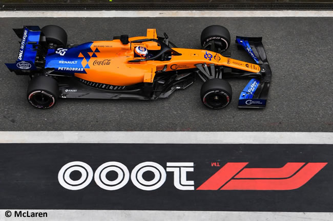 Carlos Sainz - McLaren - GP China 2019 - Carrera