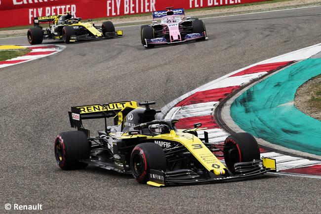 Daniel Ricciardo - Renault - GP China 2019 - Carrera