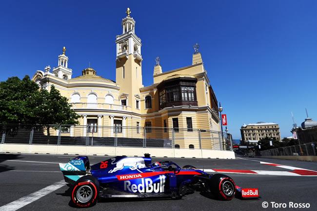 Daniil Kvyat - Toro Rosso - Clasificación - GP Azerbaiyán