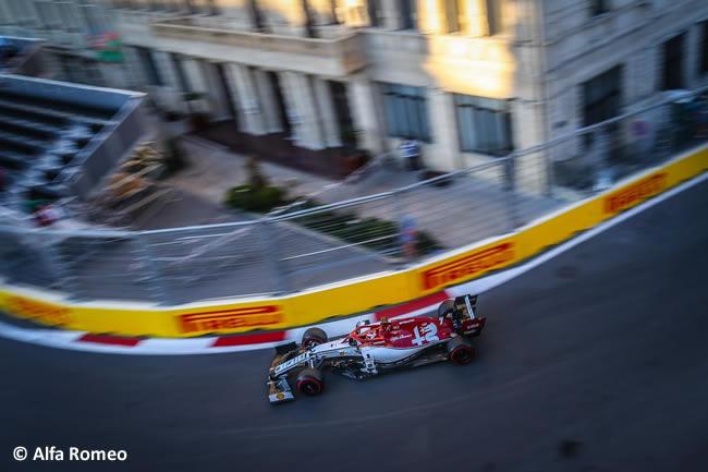 Kimi Raikkonen - Alfa Romeo - Clasificación - GP Azerbaiyán