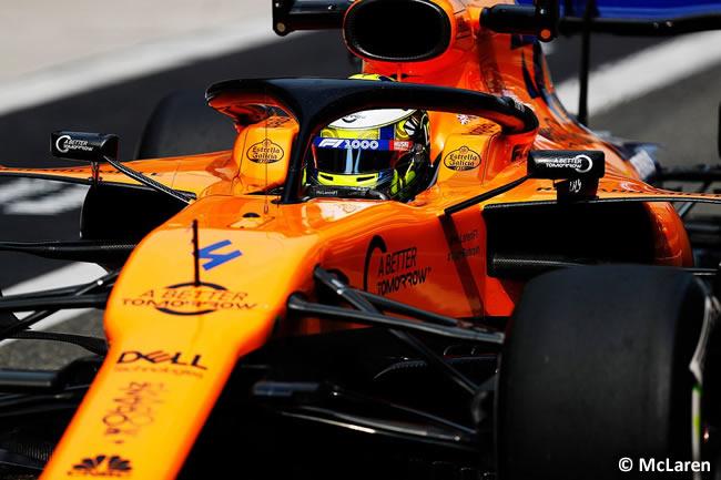 Lando Norris - McLaren - GP China 2019 - Viernes