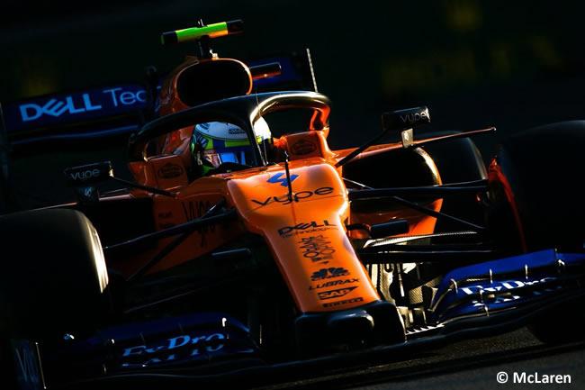 Lando Norris - McLaren - Clasificación - GP Azerbaiyán