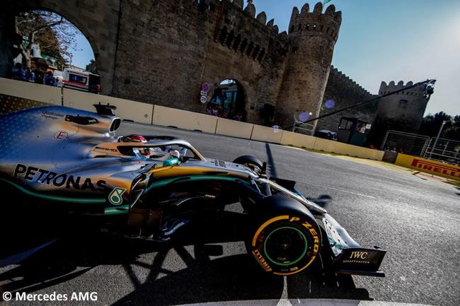 Lewis Hamilton - Mercedes - GP Azerbaiyan - Viernes