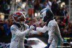Valtteri Bottas Lewis Hamilton - Mercedes - GP - Azerbaiyán - Carrera - 2019