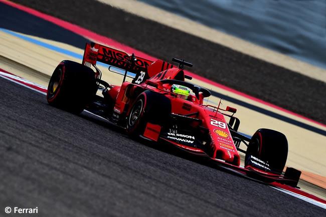 Mick Schumacher - Scuderia Ferrari - Test Bahréin 2019