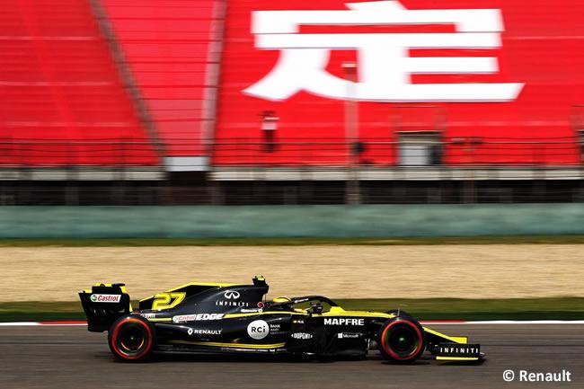Nico Hulkenberg - Renault - GP China 2019 - Viernes