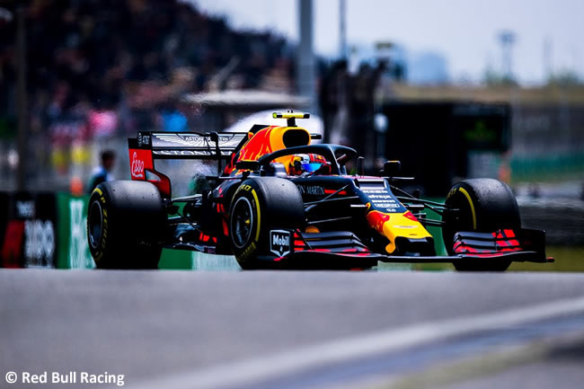 Pierre Gasly - Red Bull Racing- GP China 2019 - Carrera
