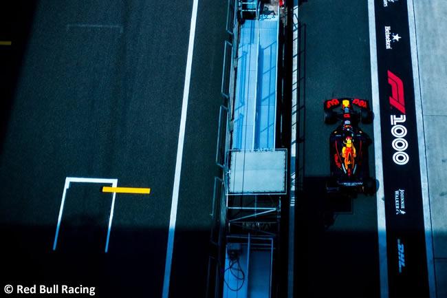 Red Bull Racing - GP China 2019 - Viernes