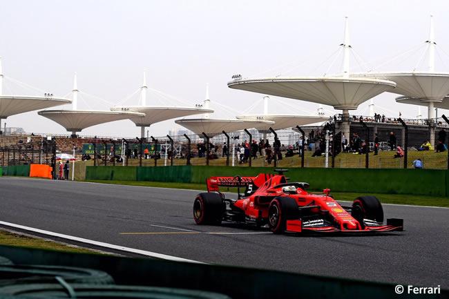 Sebastian Vettel - Scuderia Ferrari - GP China 2019 - Viernes