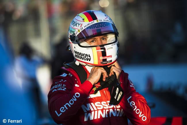 Sebastian Vettel - Scuderia Ferrari - Clasificación - GP Azerbaiyán