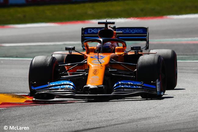 Carlos Sainz - McLaren - Carrera - GP España 2019