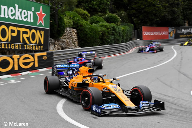 Carlos Sainz - McLaren - GP Mónaco 2019