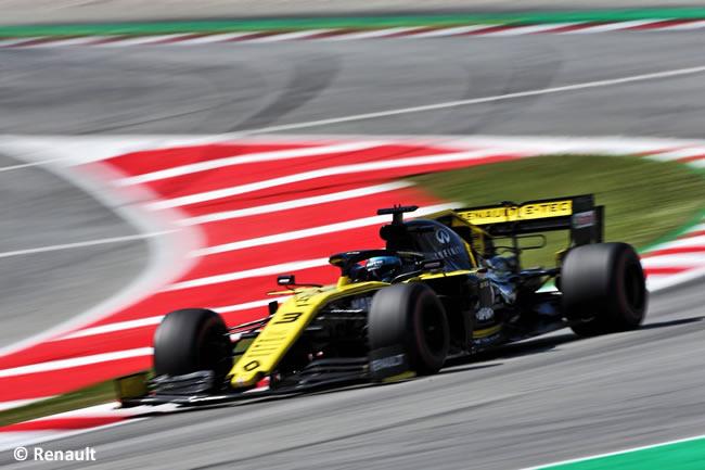 Daniel Ricciardo - Renault -Clasificación- GP España 2019