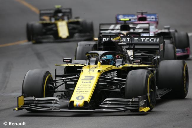 Daniel Ricciardo - Renault - GP Mónaco 2019