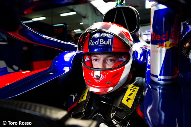 Daniil Kvyat - Toro Rosso -Clasificación- GP España 2019