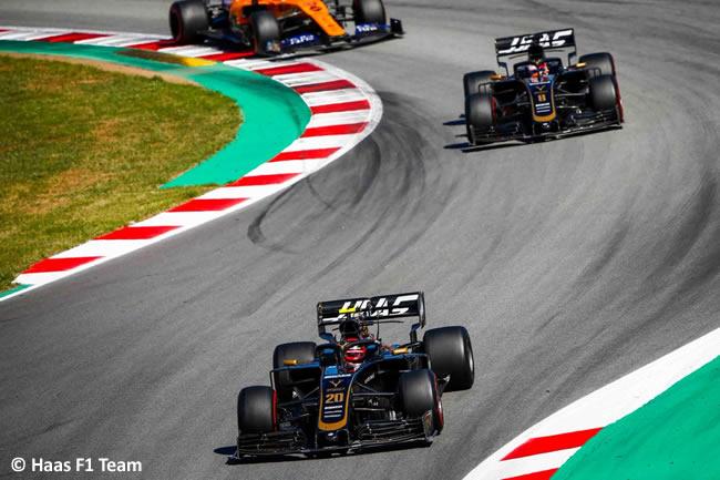 Haas - Carrera - GP España 2019